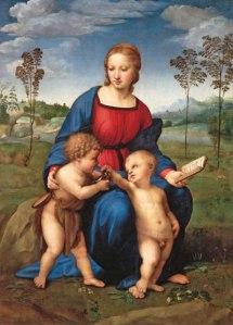 Raphael's La Madonna del Cardellino-Uffizi  Gallery, Florence